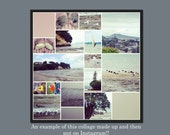 INSTANT DOWNLOAD - Digital Photo Collage Template - 12 x 12 - No.14