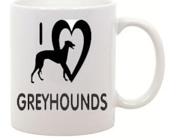 I love Greyhounds Coffee Mug 0031