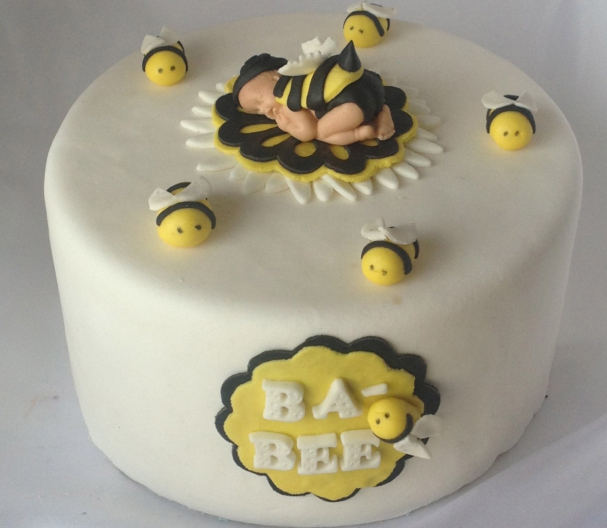 bee cake topper baby shower first birthday party decorations bumble