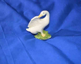 ON SALE  Cute Vintage China Duck by Enesco