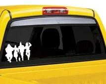 Wizard of Oz car window decal sticker