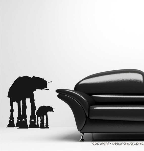AT-AT Imperial walker vinyl wall decal sticker