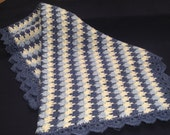 Crochet Pattern Baby Blanket Afghan, Raindrops PDF 12-013 INSTANT DOWNLOAD