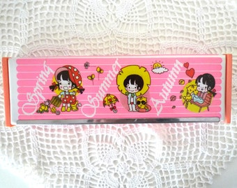 Vintage Summer boy pencil case