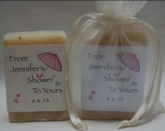 Bridal Shower Favors - Soap Favors -wedding favors-party favors- bridal shower favor - personalized favors - 1 oz. Soap Favors