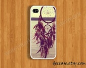 IPHONE 5 CASE iPhone 5C case 5S Case iPhone 4 case DREAM Catcher at the sea side iPhone case iPhone 4S case Hard Plastic Case Rubber Case