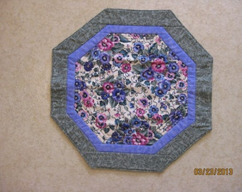 Bright Spring Flowers - Octagonal Table Topper