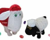 A Little Sheepish Crochet Sheep 2 in 1 Pattern
