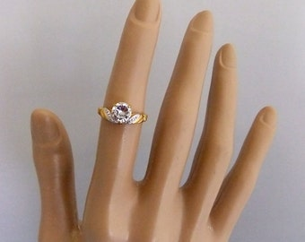 Lind 14k HGE CZ stones Ring