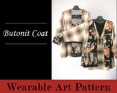 Butonit Coat - designed for sizes 1X to 5X