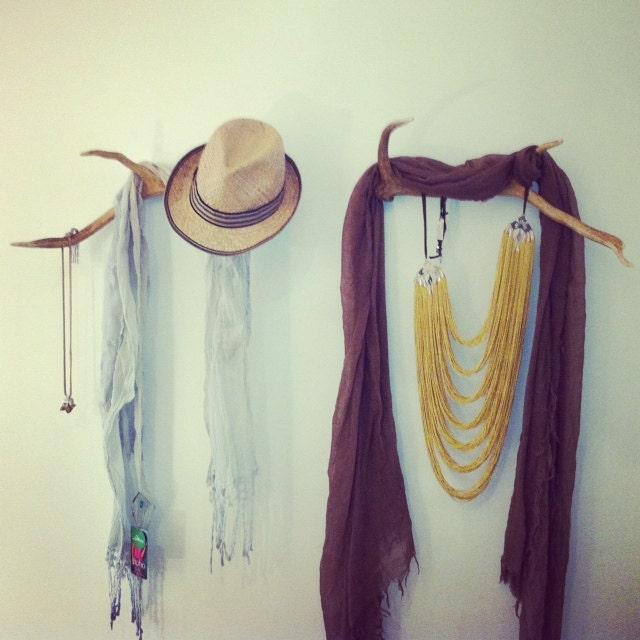 Deer Antler Coat Rack Hat Stand Coat Hanger