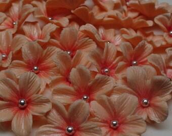 Complete set of 100 Gumpaste Flowers Cake Decoration