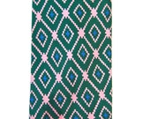 1970's Yves Saint Laurent Patterned Tie