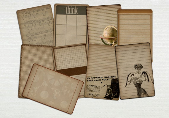 Printable Steampunk Journal Pages
