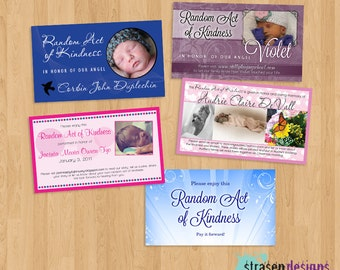 CUSTOM Random Act of Kindness card Printable