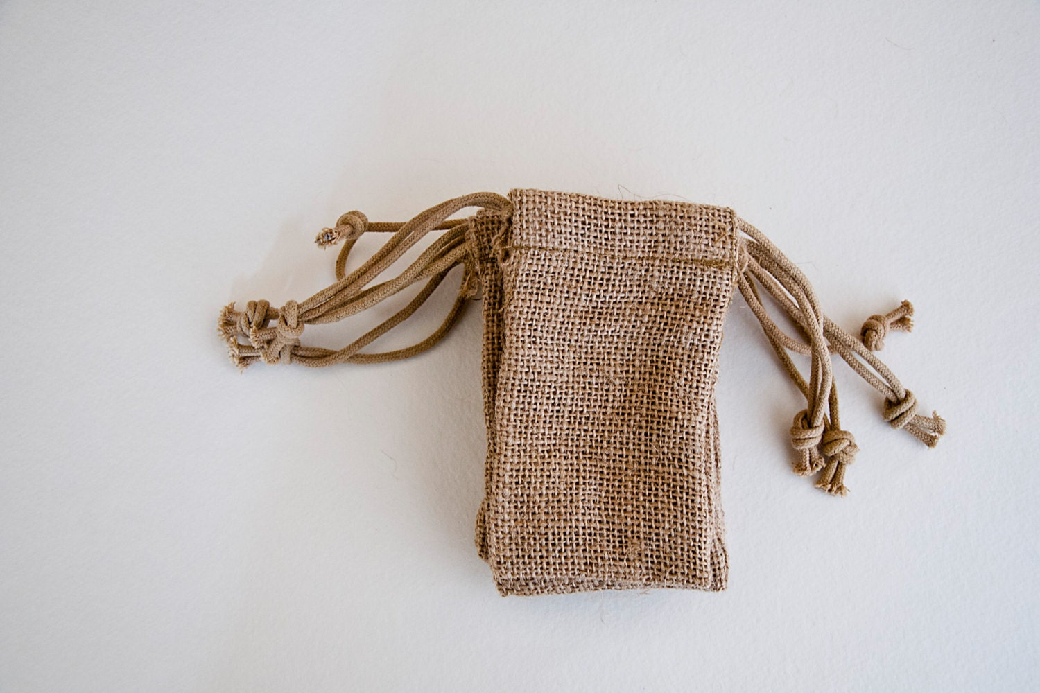 168 Small Burlap Wedding Favor Bags Quantity 168 By