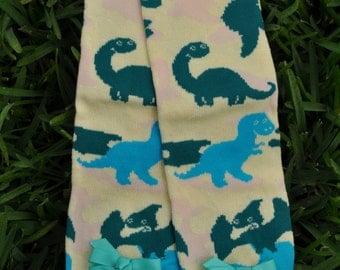 Dinosaur Leg Warmers- customize available