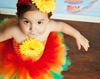 Rainbow Tutu Dress, Rainbow Tutu, Rainbow Dress, Rainbow Baby Outfit, Rainbow Birthday, OOC, Pageant Dress