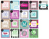 Personalized Gift Tag Printable Files (Enclosure/Calling Card)