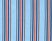 SALE! 1/4m Vroom Stripe in Denim - Robert Kaufman