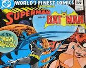 Superman and Batman  World's Finest Comics Vol. 1, No. 295  Sept. 1983