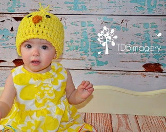 Baby Chick Hat-Made to Order