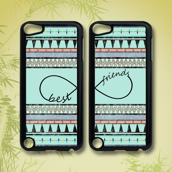 Items similar to Aztec Best Friends - ipod 5 case ,ipod 4 ...