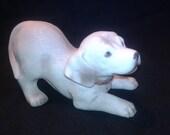 Vintage HOMCO Golden Lab Puppy Figurine