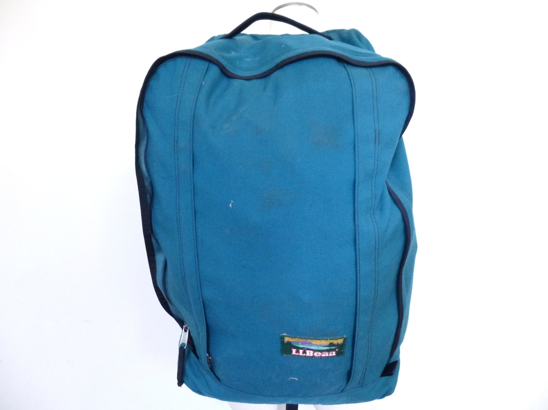Vintage Backpacking Backpack Ll Bean Duffle Bag Canvas