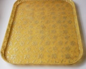 Mid Century Fiberglass Lace Tray