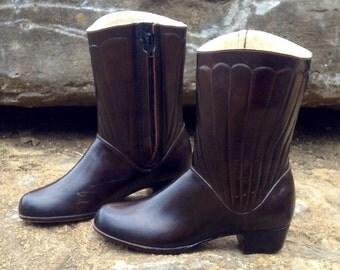25% OFF // Women's 7 // Vintage SEARS Wool Lined Rubber Boots // WATERPROOF