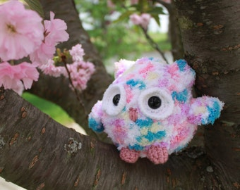 Pudgy Owl Amigurumi