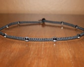 Mens Hemp Necklace - Mens Choker Necklace for Men - Mens Hemp Jewelry for Men - Black Hemp Necklace - Teen Boy Gift for Men - Boyfriend Gift