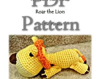 RunRunRun Series - Roar the Lion (PDF Pattern)