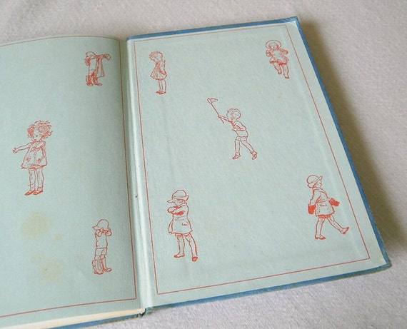 Vintage  A A Milne  Hardcover Book  When We Were Very Young.
