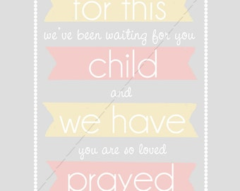 For This Child We Have Prayed (digital download)