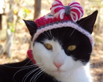 Valentines Day Cat Hat, Valentine Hats for Cats, Valentine Cat Costume, Valentine Hats for Dogs, Valentine Costume Dogs, Valentines Day Pets