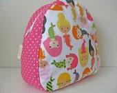 Mermaid & Polka Dot Toddler Backpack