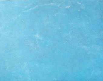 "Abstract Painting ""Under Blue Ice"" - Original Art from Ease the Soul Artworks by Jackson P"