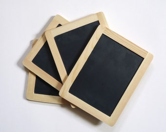 Blackboards, Chalkboards, 4 Black Chalk boards, party decor, wedding signs, homeschool supply, party signs