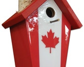 Oh Canada Birdhouse