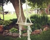 Tree Swing // Macrame Swing