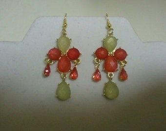 New Summer Chandelier Earrings (0940)