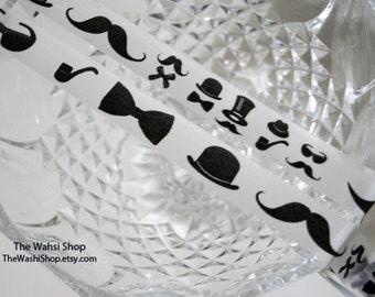 Mustache Washi Tape