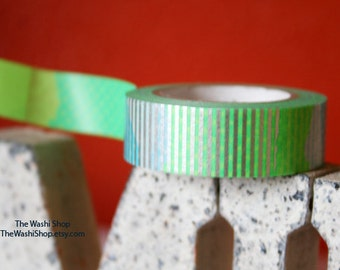 MT Neon Green Washi Tape