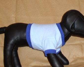 blue fleece shirts & hoodies for dogs