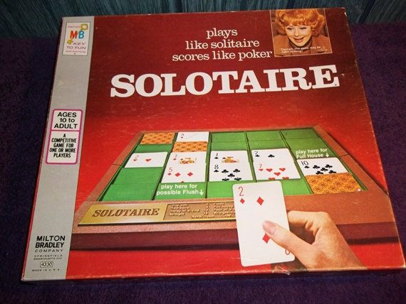 Solitaire Game With Box