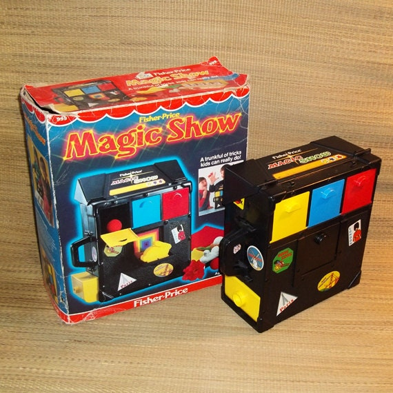 fisher price magic show instructions pdf