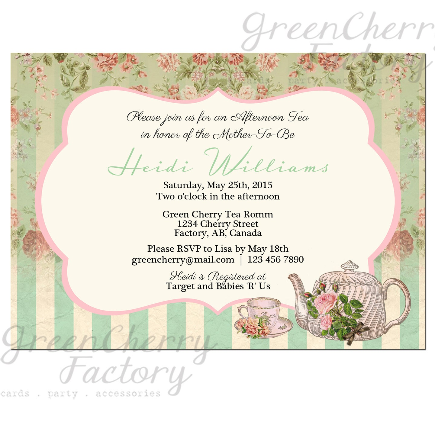 Bridal Tea Party Invitations correctly perfect ideas for your invitation layout