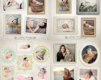 SAVE 40% - Bundle Vintage Digital Frames for Photographers - ID0078